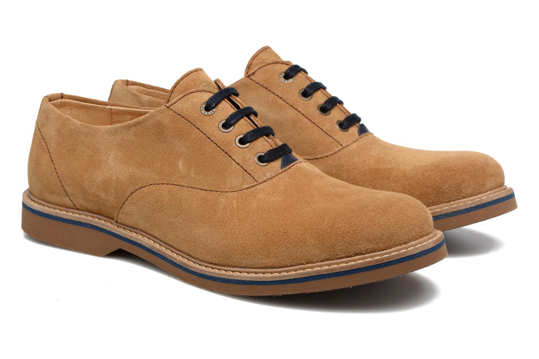 Chaussures à lacets Mr SARENZA Sorges Marron vue derrière