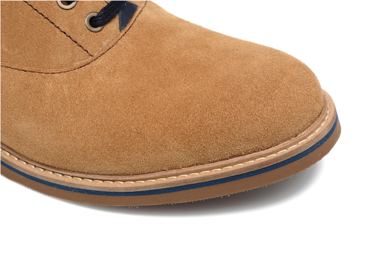 Chaussures à lacets Mr SARENZA Sorges Marron vue gauche