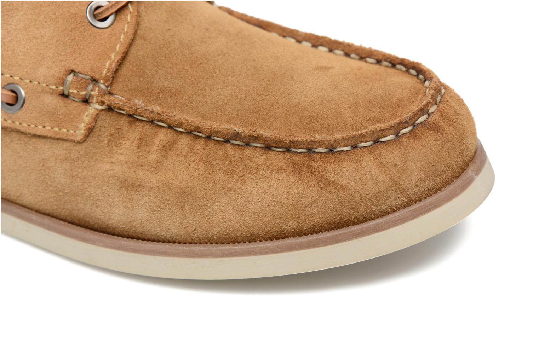 Chaussures à lacets Mr SARENZA Stavanger Marron vue gauche