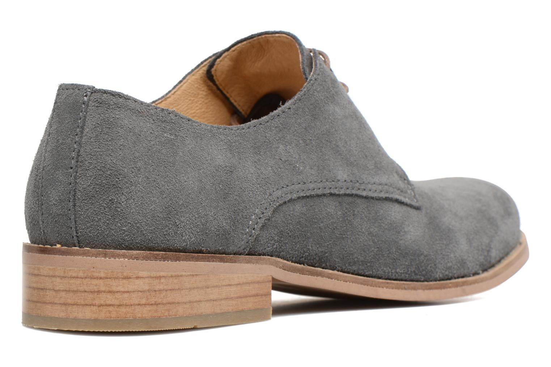 Chaussures à lacets Mr SARENZA Sallique Gris vue face