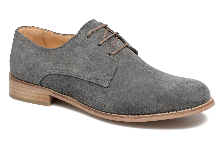 Chaussures à lacets Mr SARENZA Sallique Gris vue droite