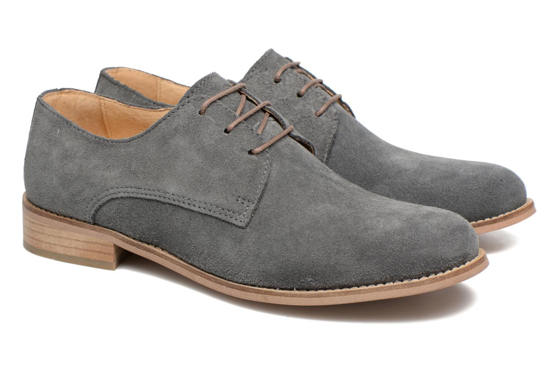 Chaussures à lacets Mr SARENZA Sallique Gris vue derrière