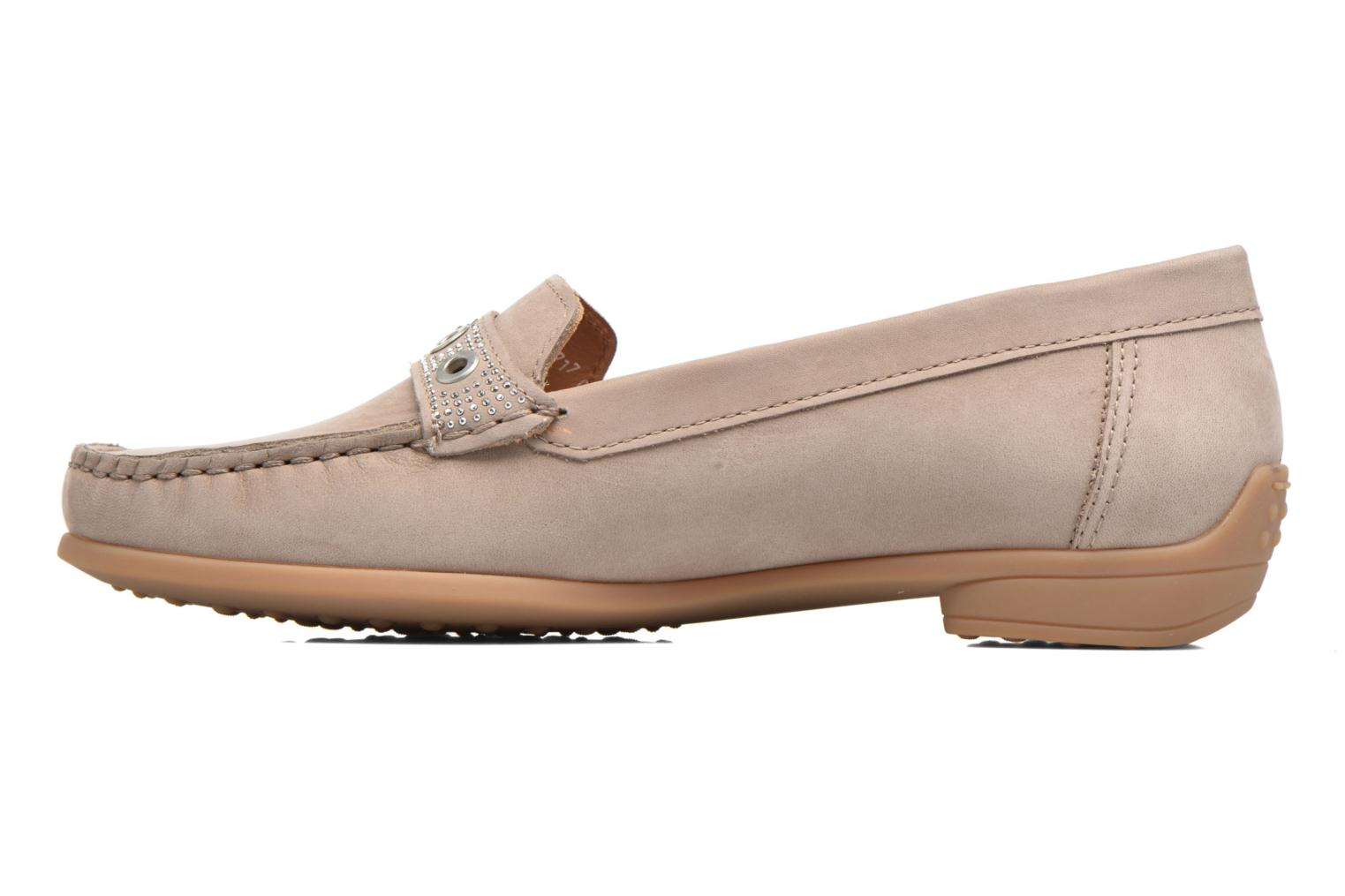 Loafers Ara Boston 40717 Beige front view