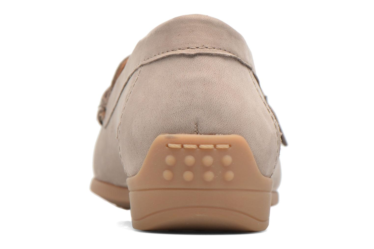 Loafers Ara Boston 40717 Beige view from the right