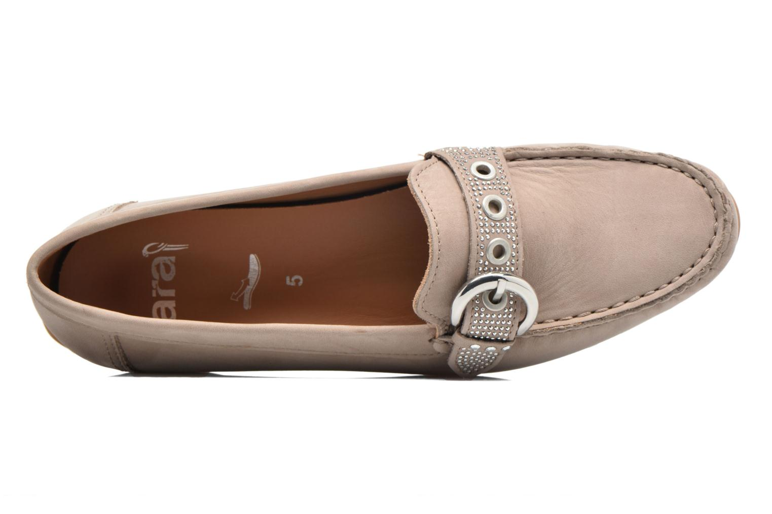 Loafers Ara Boston 40717 Beige view from the left