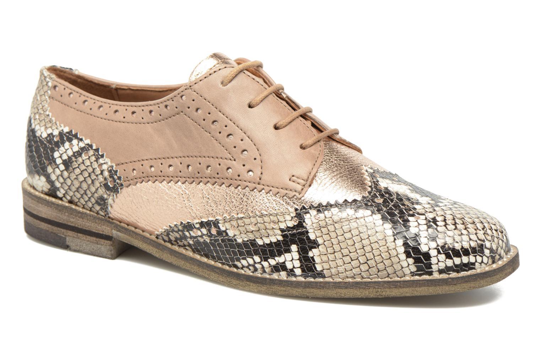 Chaussures à lacets Ara Kent 31210 Beige vue détail/paire