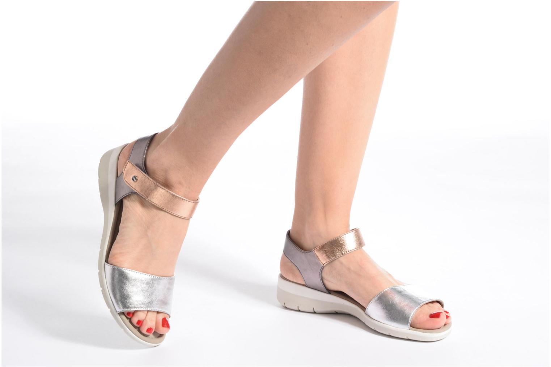 Sandales et nu-pieds Ara Lido 36021 Multicolore vue bas / vue portée sac