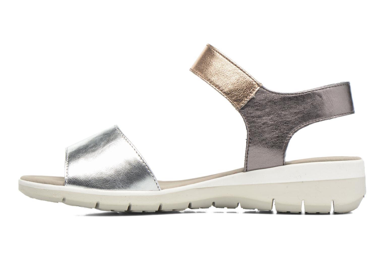 Sandales et nu-pieds Ara Lido 36021 Multicolore vue face
