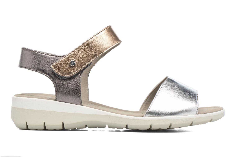 Sandales et nu-pieds Ara Lido 36021 Multicolore vue droite