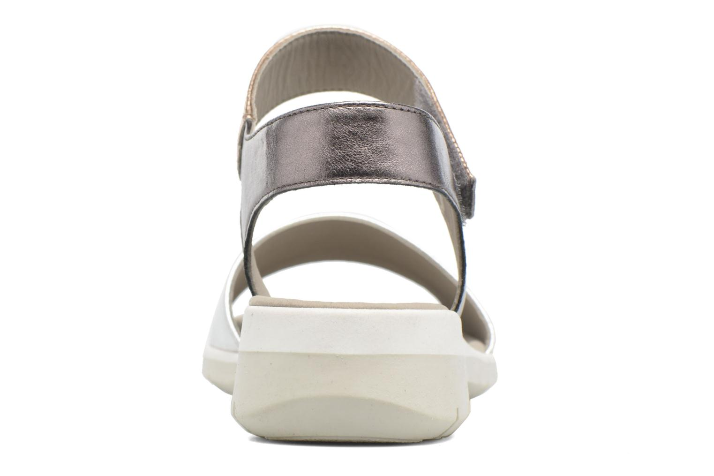 Sandales et nu-pieds Ara Lido 36021 Multicolore vue derrière