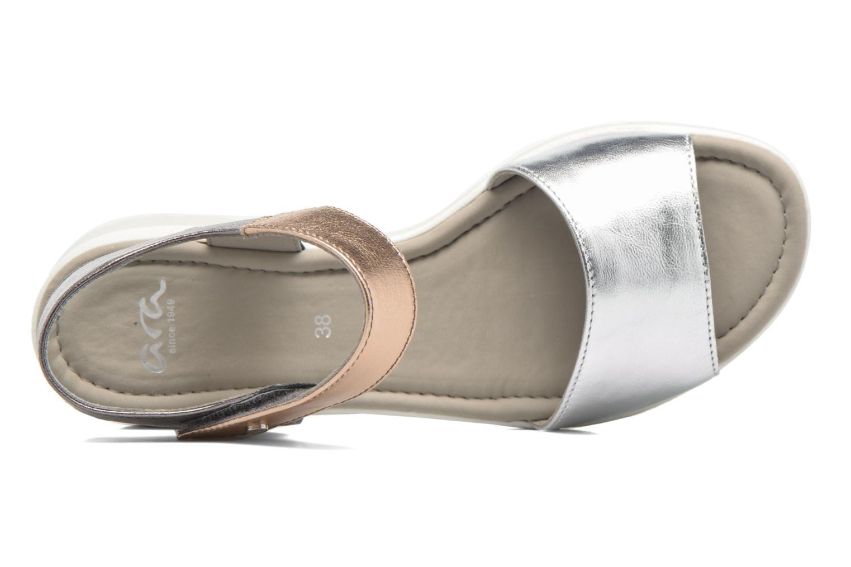Sandales et nu-pieds Ara Lido 36021 Multicolore vue gauche