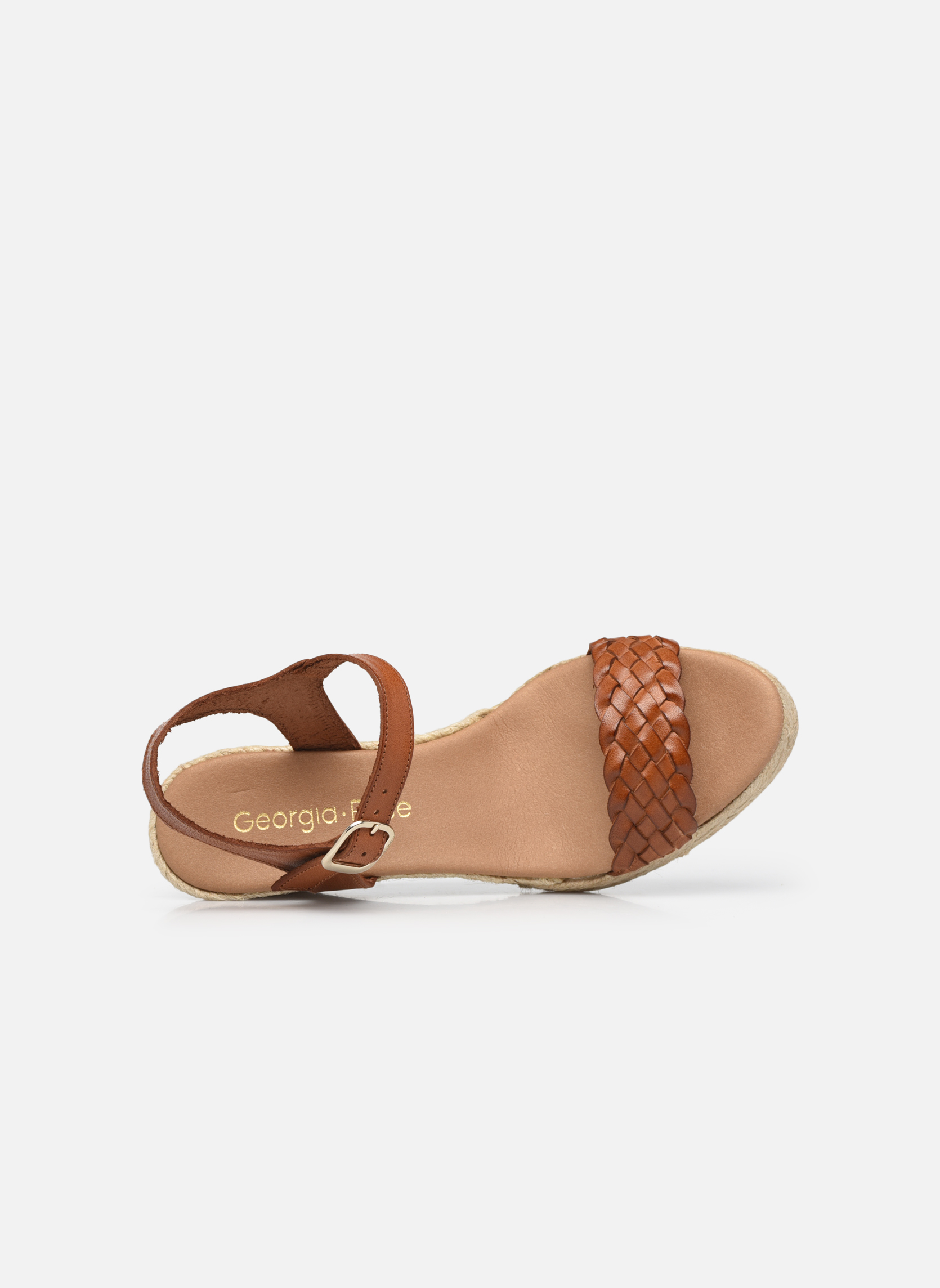 Espadrilles Georgia Rose Itresse Brown view from the left