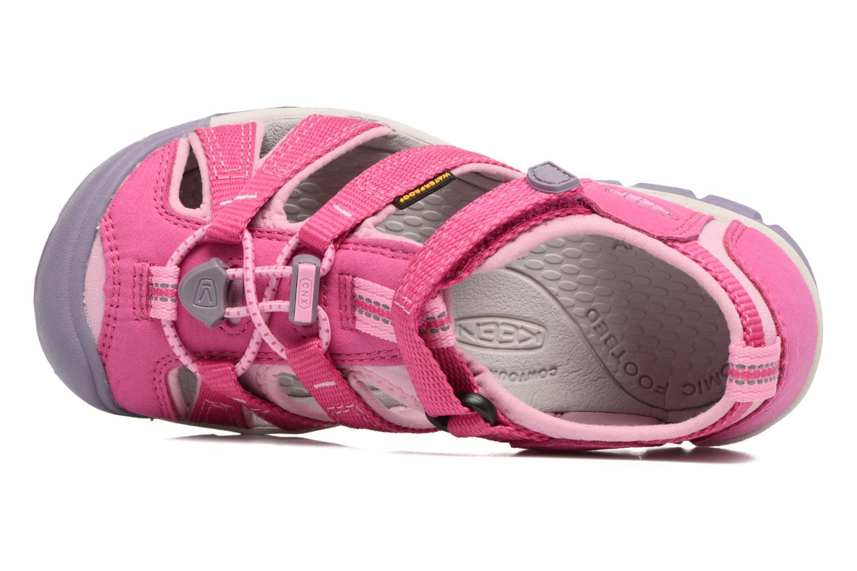 Sandales et nu-pieds Keen Seacamp ll CNX Rose vue gauche