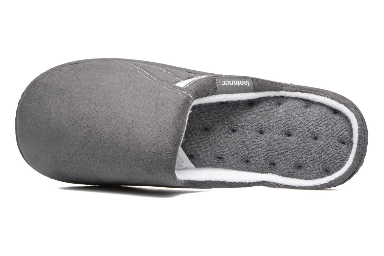 Mule ergonomique XTRA Confort suédine Gris