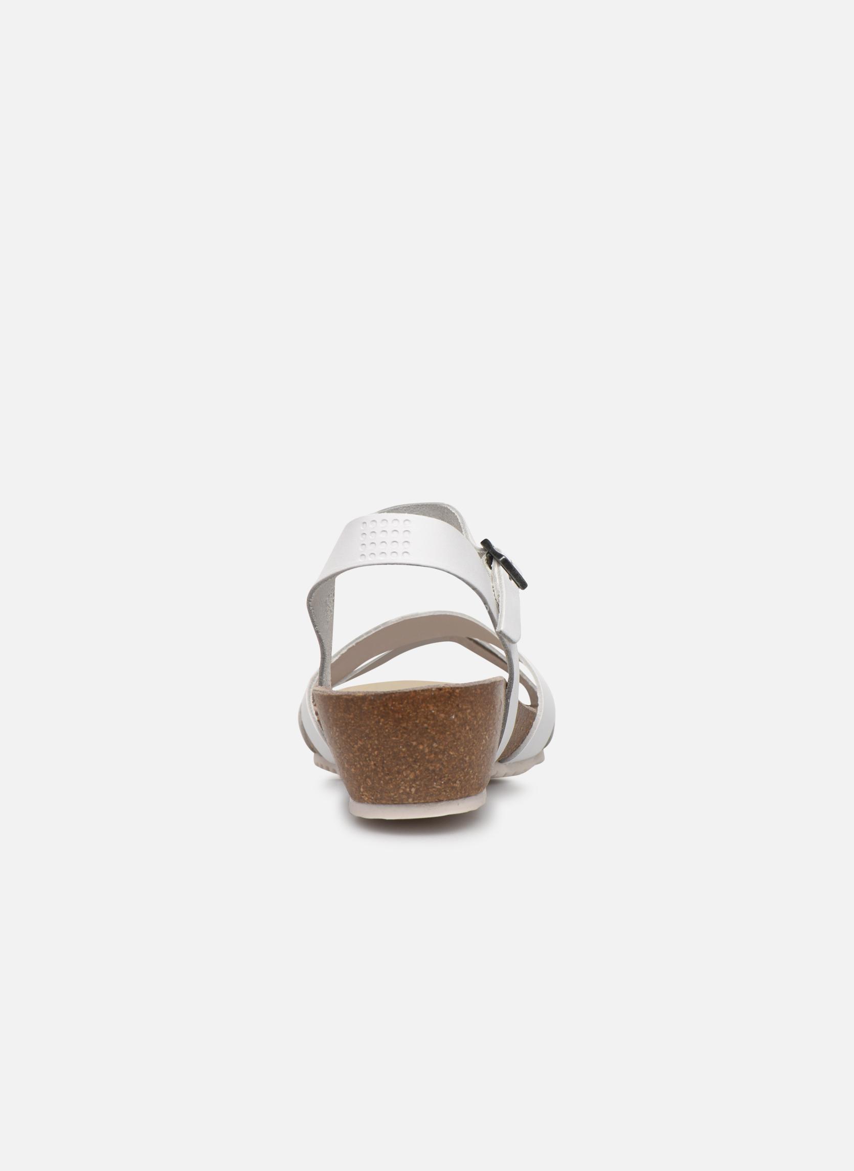 Sandales et nu-pieds TBS Sabinne Blanc vue droite