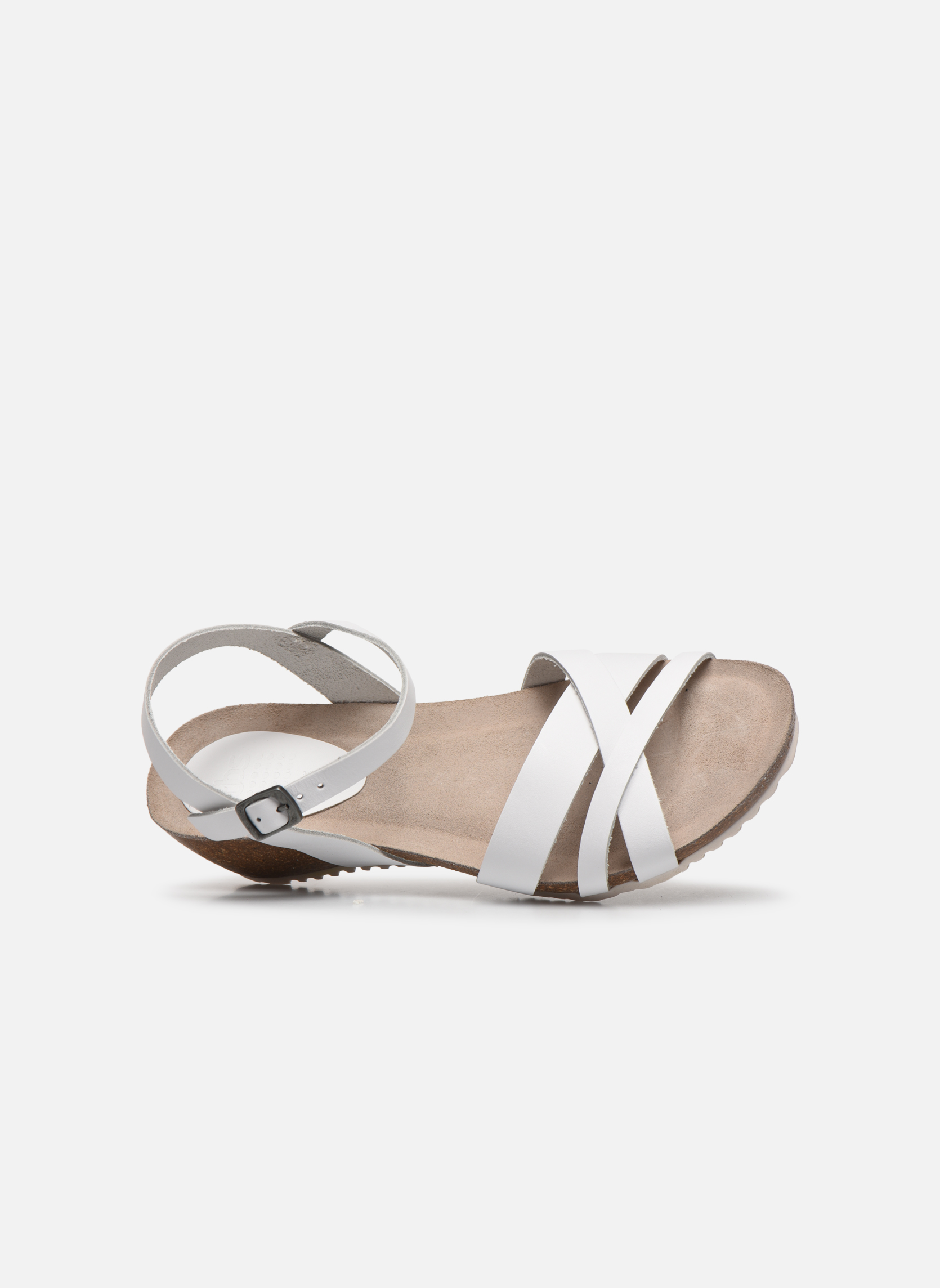 Sandalen TBS Sabinne Wit links
