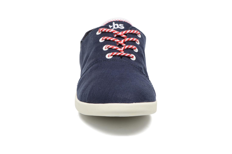 Chaussures à lacets TBS Teodora Bleu vue portées chaussures