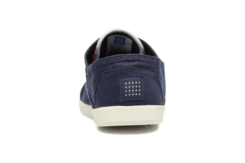Chaussures à lacets TBS Teodora Bleu vue droite