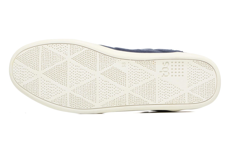 Chaussures à lacets TBS Teodora Bleu vue haut