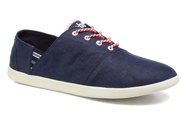 Chaussures à lacets TBS Teodora Bleu vue détail/paire