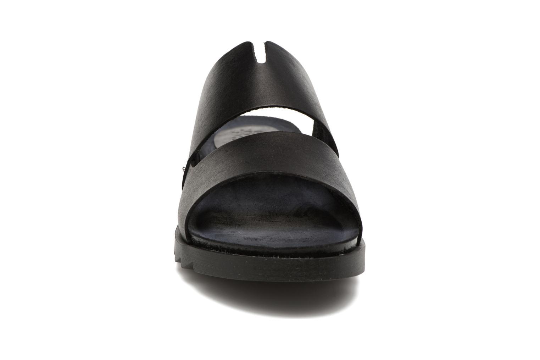 Sandales et nu-pieds TBS Typhenn Noir vue portées chaussures