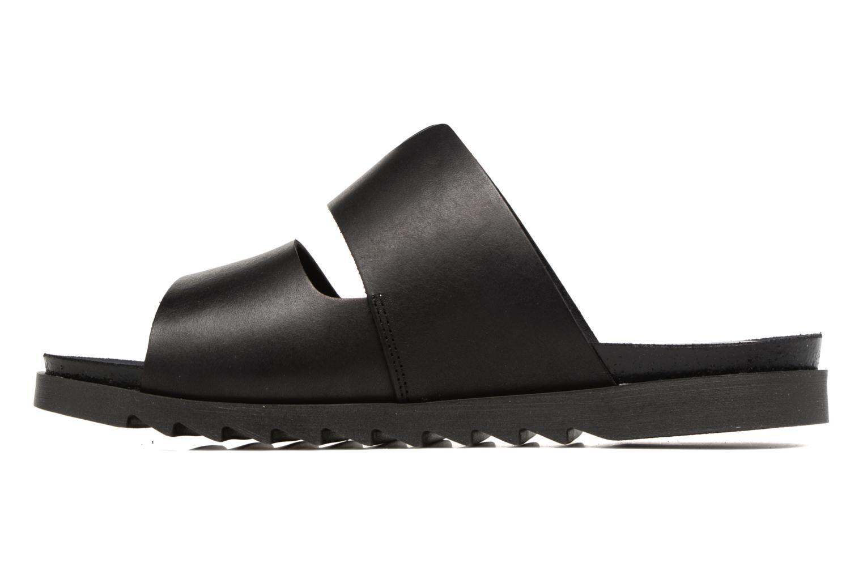 Sandales et nu-pieds TBS Typhenn Noir vue face