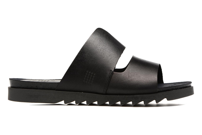 Sandales et nu-pieds TBS Typhenn Noir vue derrière