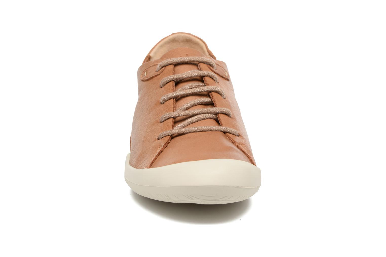 Baskets TBS Vespper Marron vue portées chaussures