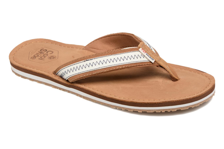 Tongs Cool Shoe Sand 2.0 - 727 Marron vue détail/paire