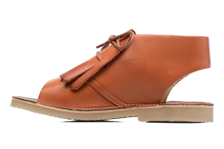 Sandales et nu-pieds Young Soles Agnes Marron vue face