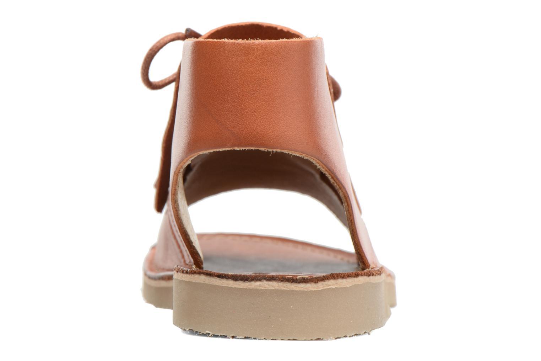 Sandales et nu-pieds Young Soles Agnes Marron vue droite