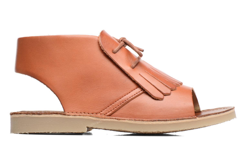 Sandales et nu-pieds Young Soles Agnes Marron vue derrière