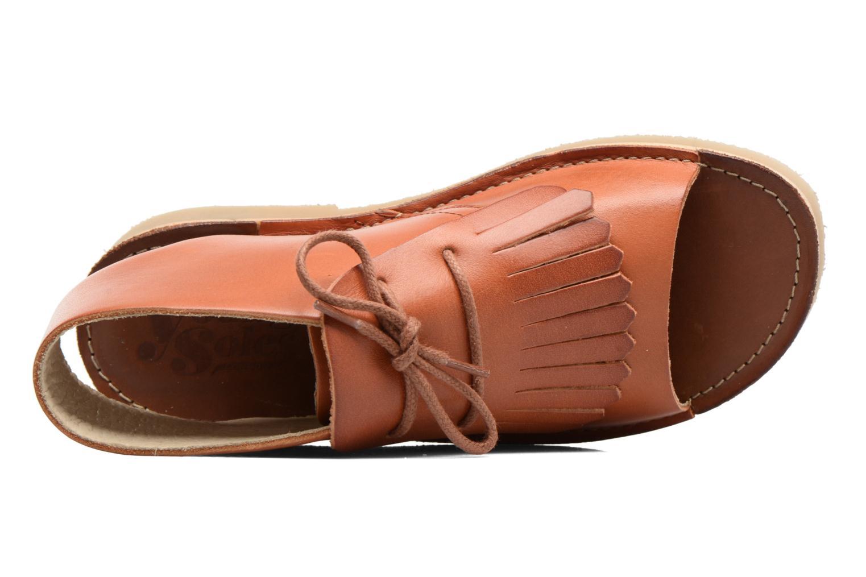 Sandales et nu-pieds Young Soles Agnes Marron vue gauche