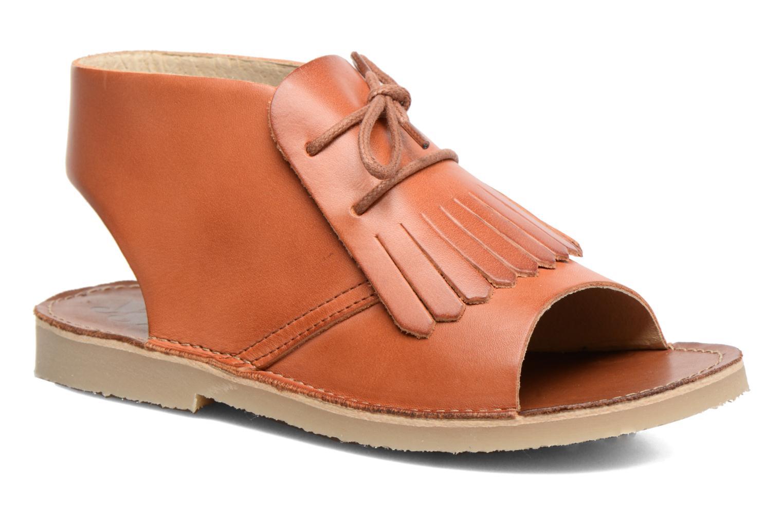 Sandales et nu-pieds Young Soles Agnes Marron vue détail/paire