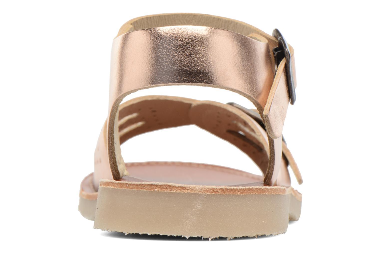 Sandales et nu-pieds Young Soles Pearl Rose vue droite