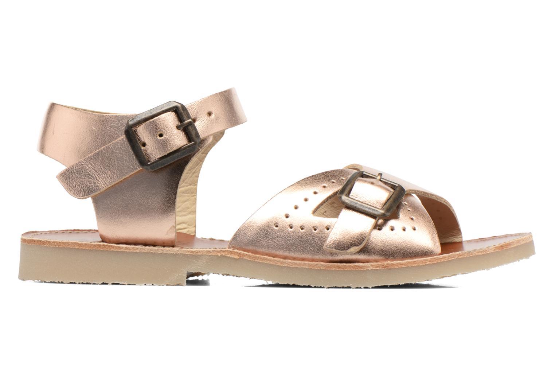 Sandales et nu-pieds Young Soles Pearl Rose vue derrière