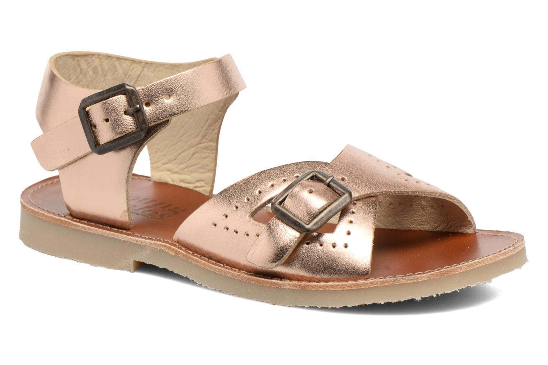 Sandales et nu-pieds Young Soles Pearl Rose vue détail/paire
