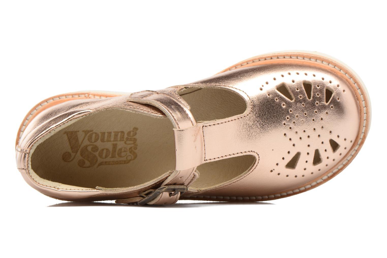 Sandales et nu-pieds Young Soles Rosie Rose vue gauche