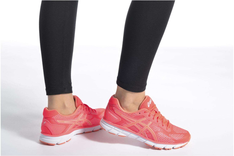 Chaussures de sport Asics Gel-Impression 9 W Orange vue bas / vue portée sac