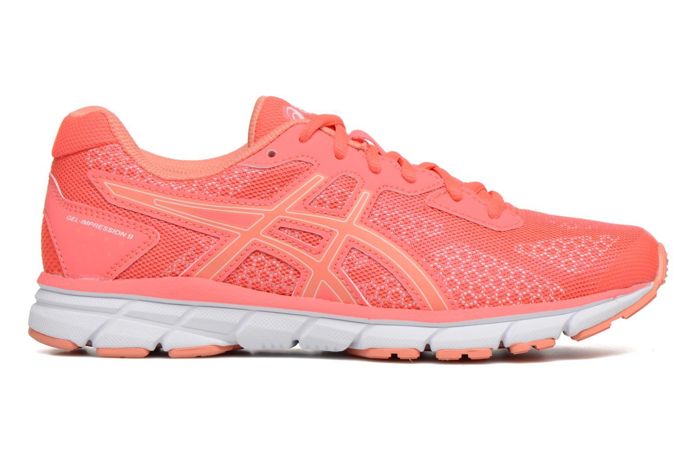 Chaussures de sport Asics Gel-Impression 9 W Orange vue derrière