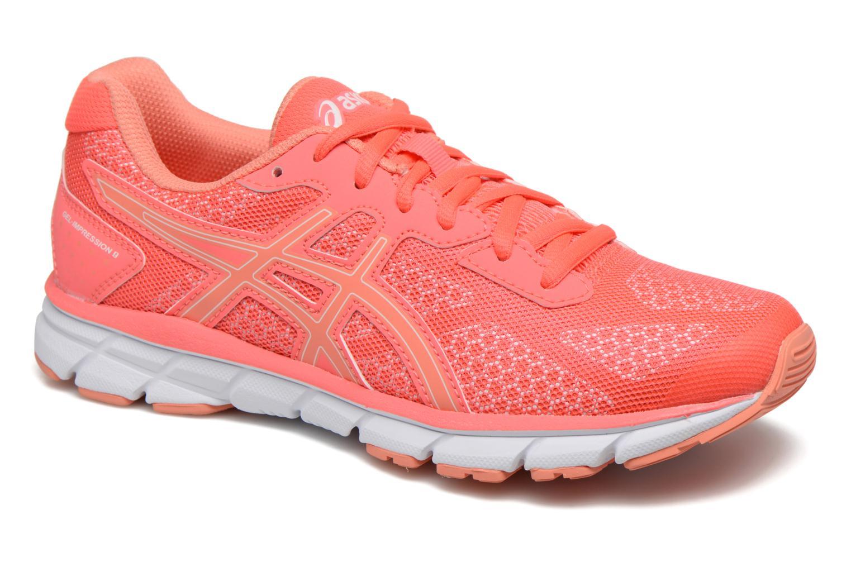 Chaussures de sport Asics Gel-Impression 9 W Orange vue détail/paire