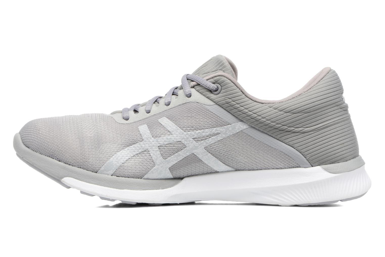 Chaussures de sport Asics Fuzex Rush W Gris vue face