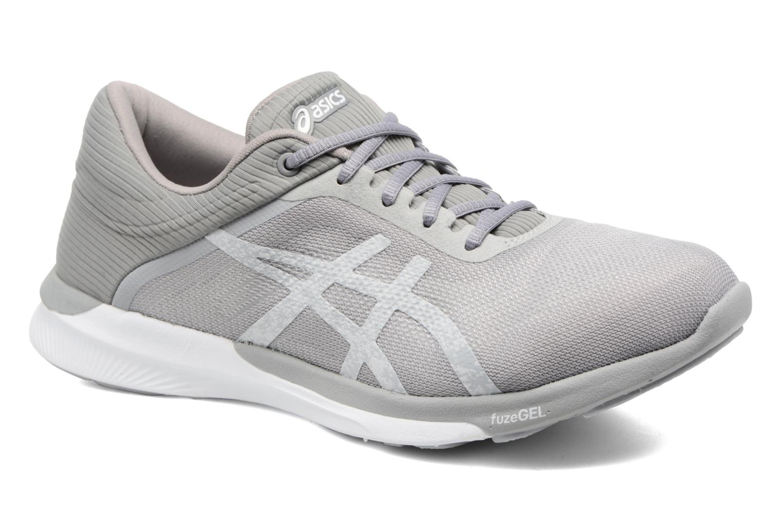 Chaussures de sport Asics Fuzex Rush W Gris vue détail/paire