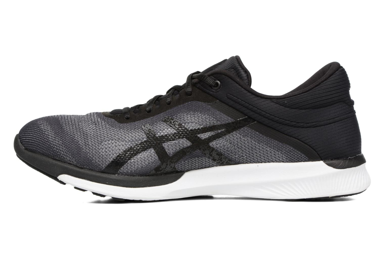 Sport shoes Asics Fuzex Rush Black front view