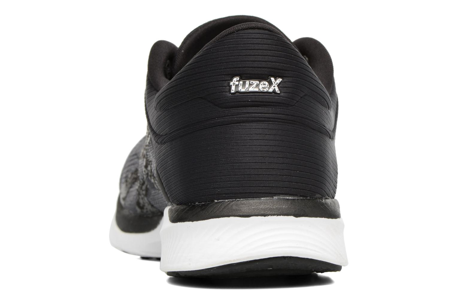 Sport shoes Asics Fuzex Rush Black view from the right