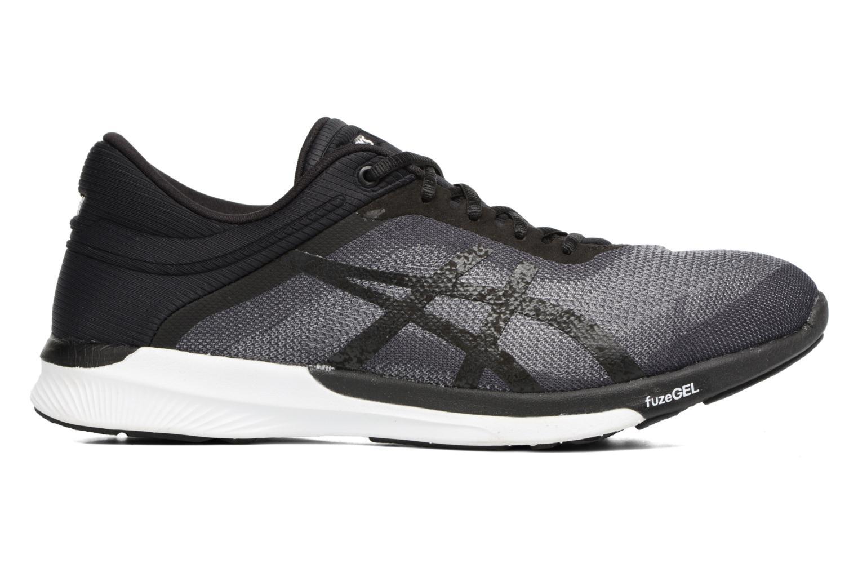 Sport shoes Asics Fuzex Rush Black back view
