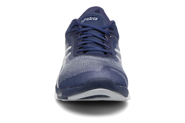 Chaussures de sport Asics Fuzex Rush Bleu vue portées chaussures