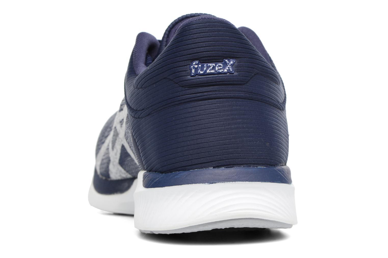 Chaussures de sport Asics Fuzex Rush Bleu vue droite