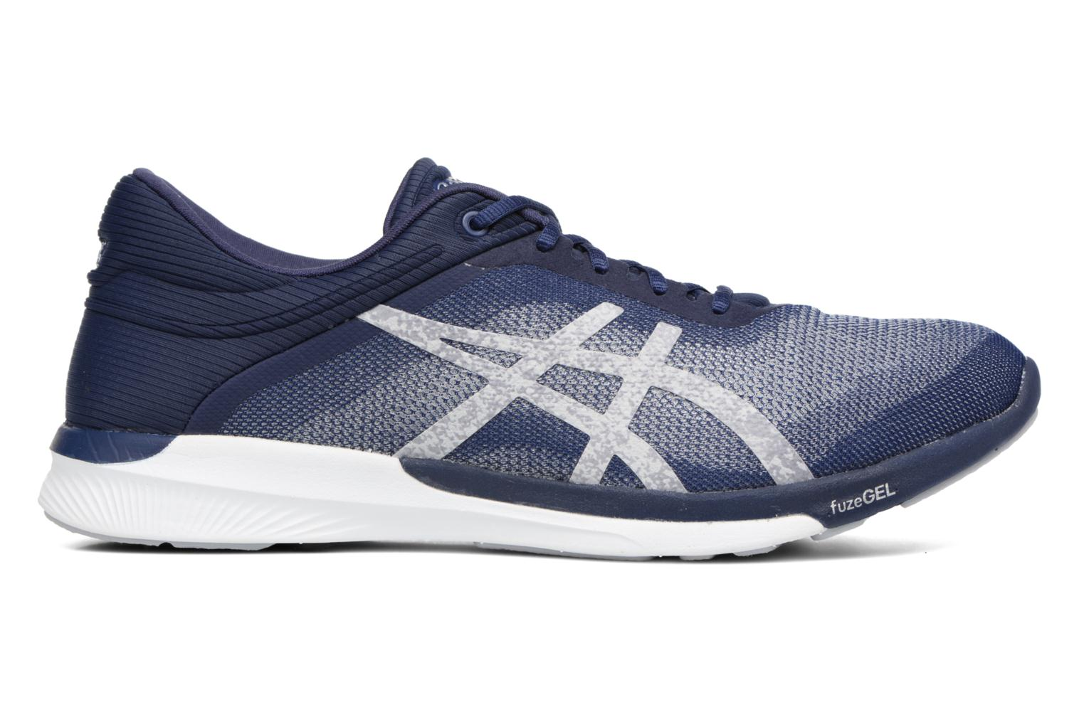 Sport shoes Asics Fuzex Rush Blue back view