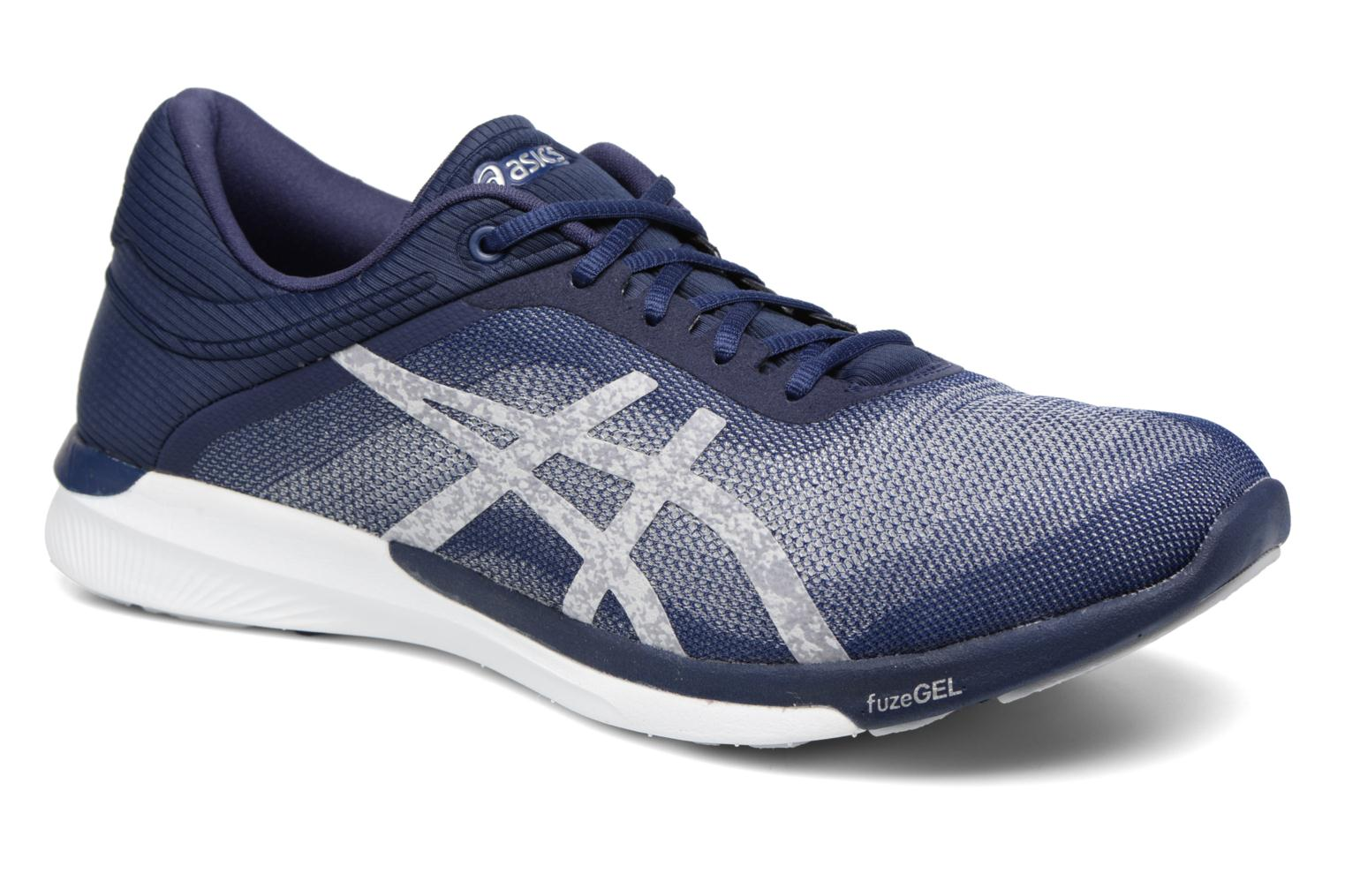 Sport shoes Asics Fuzex Rush Blue detailed view/ Pair view
